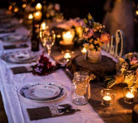 Nighttime-table-setting